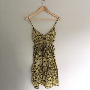H&M Amsterdam African Print Dress Size 10